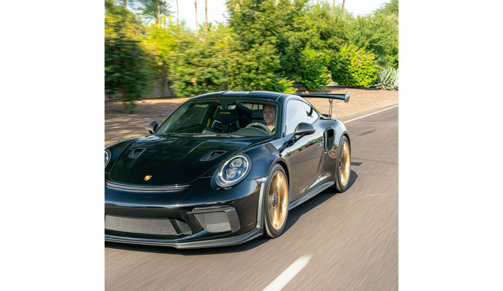 "His 911: Casey enjoys every ride in his GT3 RS, generation 991: ""I like it when a drive becomes an experience."""