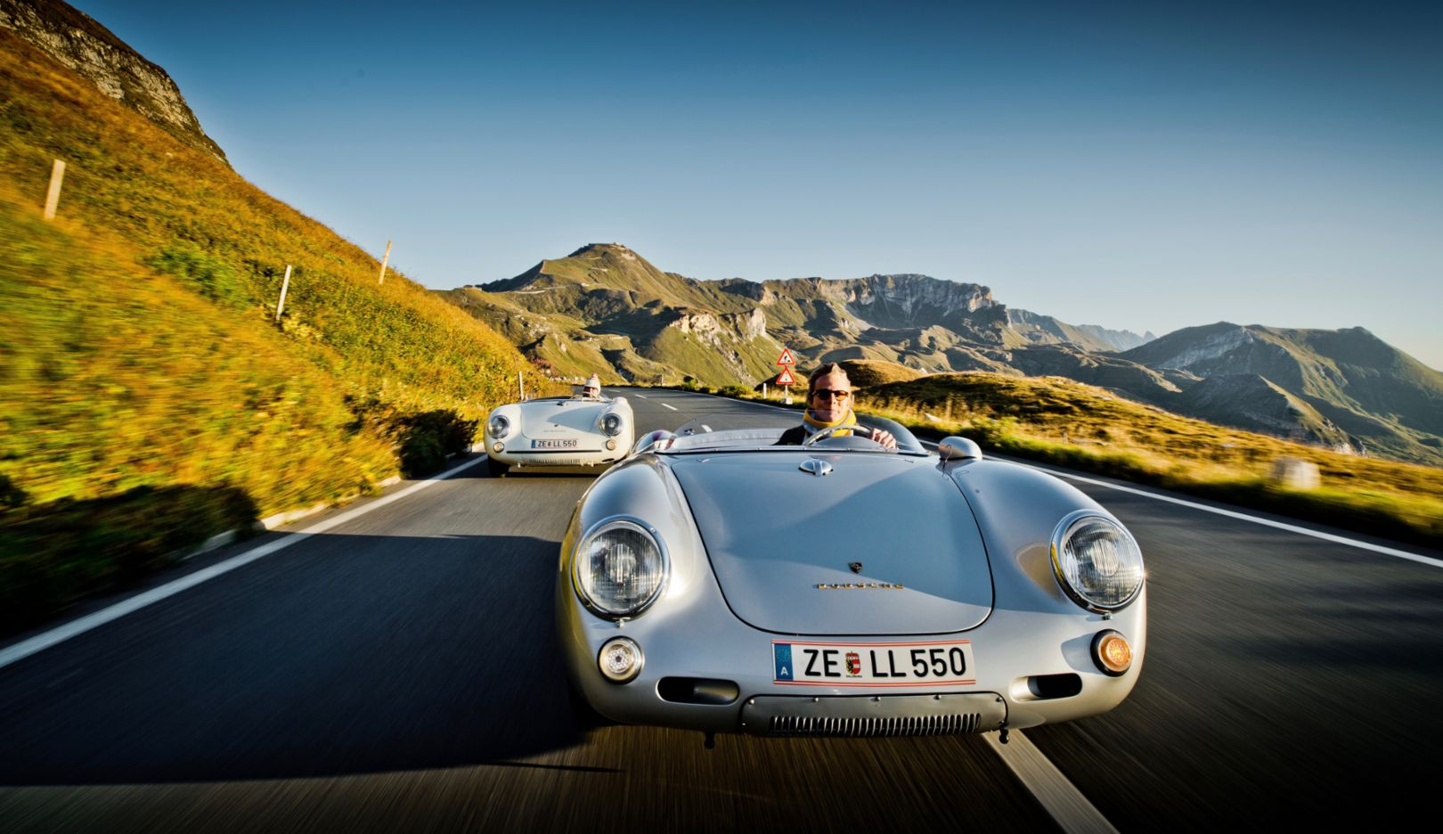 "Ferdinand ""Ferdi"" Porsche is developing from a city dweller to a nature lover. A down-to-earth attitude is an important value that is shared by both father and son."