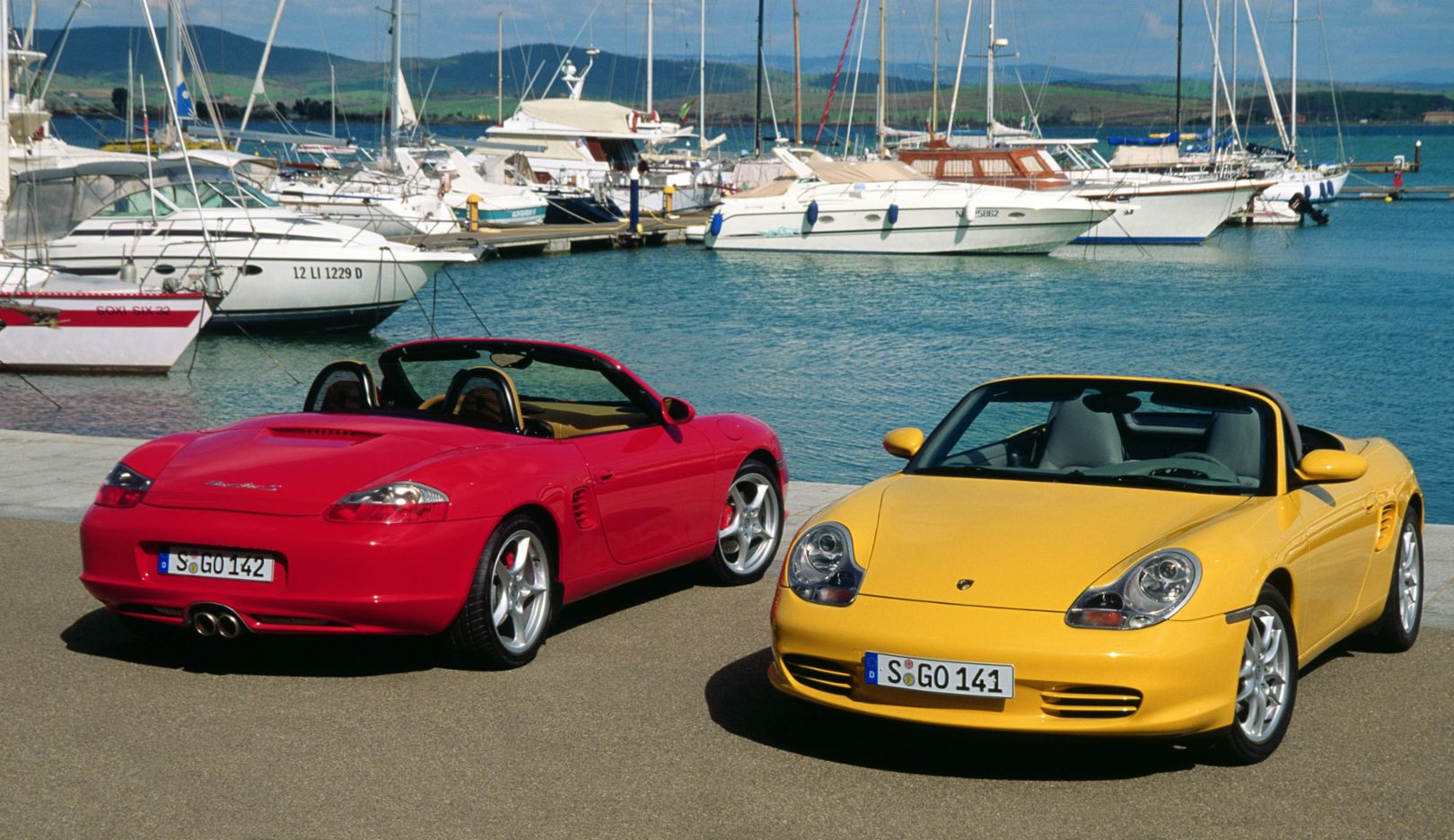 986 generation: model years 1997–2005. A total of 164,874 units of the first Boxster generation – 986 – were built.