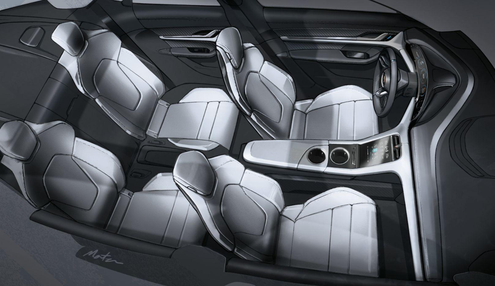 Taycan Fascinating Interior Design Porsche Christophorus