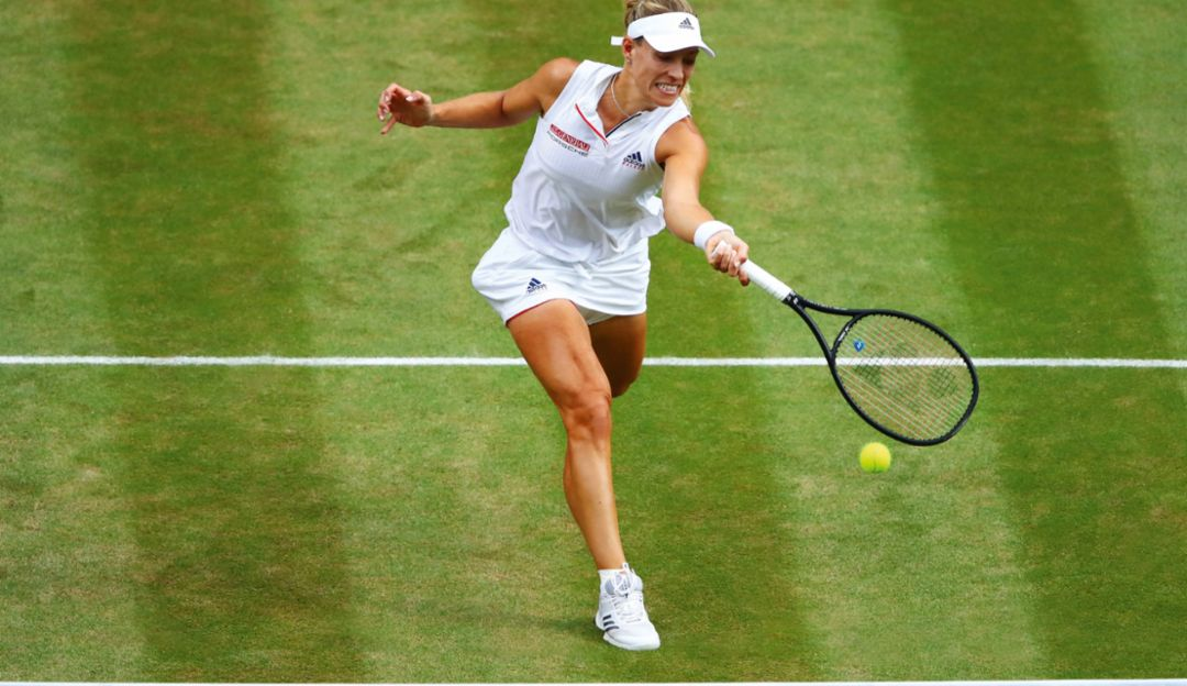 Angelique Kerber's play is analyzed: